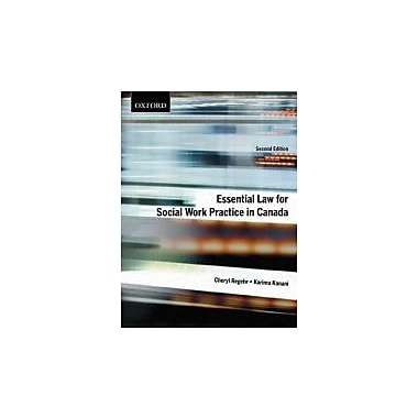 Essential Law for Social Work Practice in Canada, New Book (9780195430776)