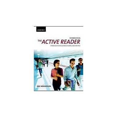 The Active Reader: Strategies for Academic Reading and Writing, Used Book (9780195439748)
