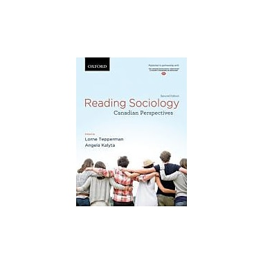 Reading Sociology: Canadian Perspectives, New Book (9780195441291)