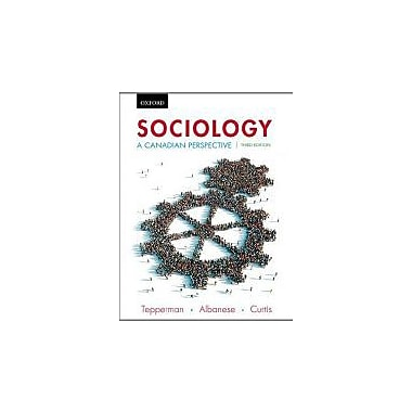 Sociology: A Canadian Perspective, Third Edition, Used Book (9780195443806)