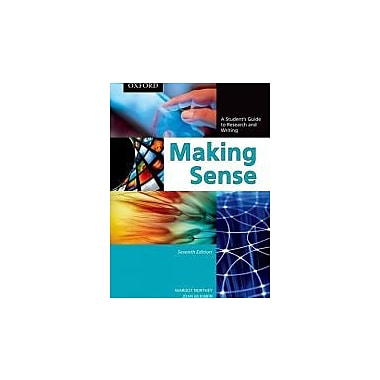 Making Sense: A Student's Guide to Research and Writing, Used Book, (195445813)