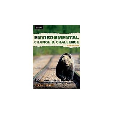 Environmental Change & Challenge, Used Book (9780195446258)