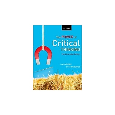 Power of Critical Thinking, New Book (9780195447538)