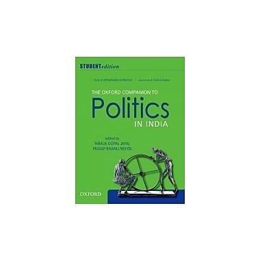 The Oxford Companion to Politics in India: Student Edition, New Book (9780198075929)