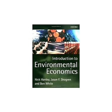 Introduction to Environmental Economics, New Book (9780198775959)