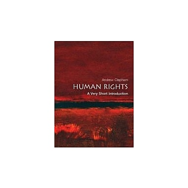 Human Rights: A Very Short Introduction, New Book (9780199205523)