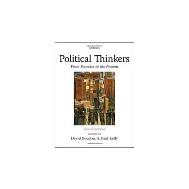 Political Thinkers: From Socrates to the Present, New Book (9780199215522)