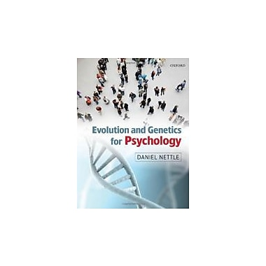 Evolution and Genetics for Psychology, Used Book (9780199231515)