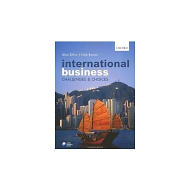 International Business: Challenges and Choices, New Book (9780199533916)