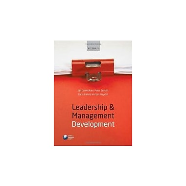 Leadership and Management Development, Used Book (9780199580873)