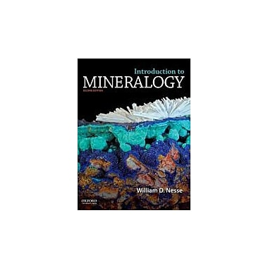 Introduction to Mineralogy, New Book (9780199827381)