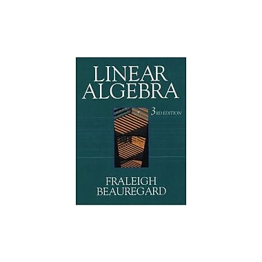 Linear Algebra, Third Edition, Used Book (9780201526752)