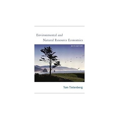 Environmental and Natural Resource Economics, Sixth Edition, Used Book (9780201770278)