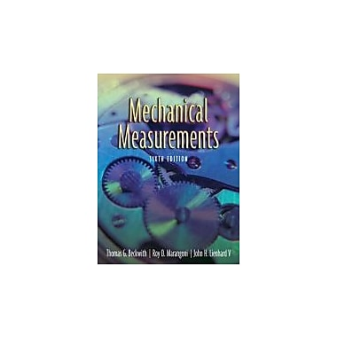 Mechanical Measurements (6th Edition), Used Book (9780201847659)
