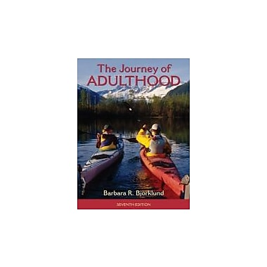 Journey of Adulthood (7th Edition) (Pearson Custom Library: Psychology), New Book (9780205018055)