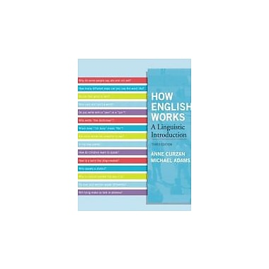 How English Works: A Linguistic Introduction (3rd Edition), New Book (9780205032280)