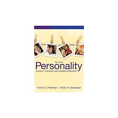 Personality: Classic Theories and Modern Research (5th Edition), New Book (9780205050178)