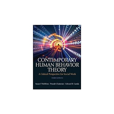 Contemporary Human Behavior Theory: A Critical Perspective for Social Work, New (9780205055562)
