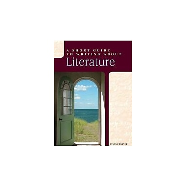 A Short Guide to Writing about Literature (12th Edition), Used Book (9780205118458)
