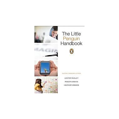 The Little Penguin Handbook, Second Canadian Edition with MyCanadianCompLab (2nd Edition), New Book (9780205201303)
