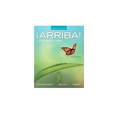 Arriba: Comunicacion y cultura w/Student Activities Manual & MySpanishLab & Pearson eText (Access Card), New (9780205203352)