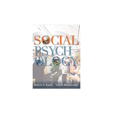 Social Psychology (13th Edition), Used Book (9780205205585)