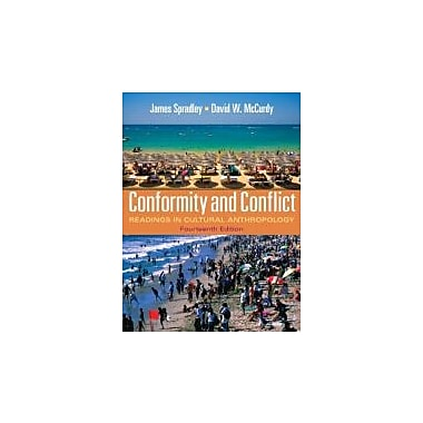 Conformity and Conflict: Readings in Cultural Anthropology (14th Edition), New Book (9780205234103)