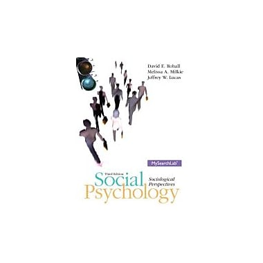 Social Psychology (3rd Edition), Used Book (9780205235001)