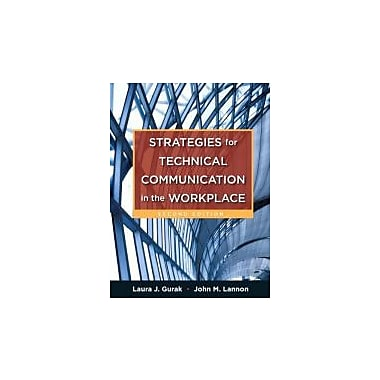 Strategies for Technical Communication in the Workplace (2nd Edition), New Book (9780205245529)