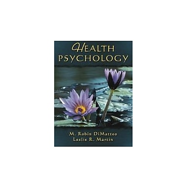 Health Psychology, New Book (9780205297771)