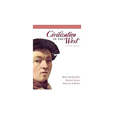 Civilization in the West, Combined Volume (7th Edition), New Book (9780205556847)