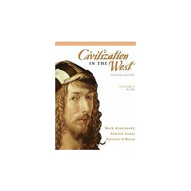 Civilization in the West, Volume 1 (to 1715) (7th Edition), New Book (9780205556854)