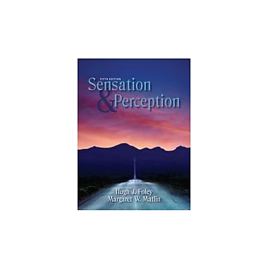 Sensation and Perception (5th Edition), New Book (9780205579808)
