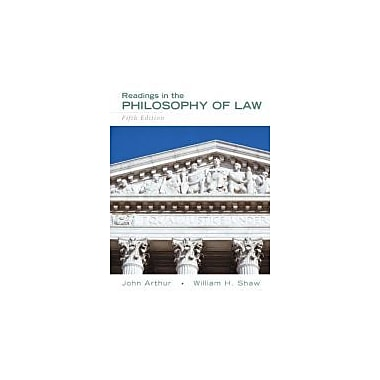 Readings in the Philosophy of Law (5th Edition), New Book (9780205708093)
