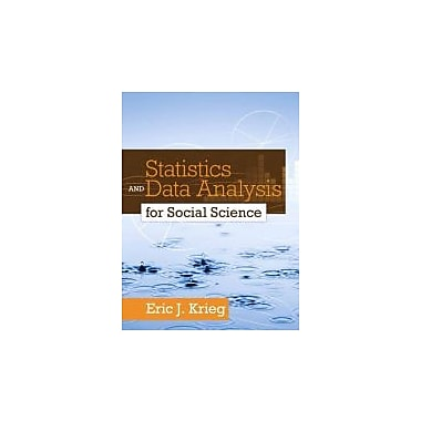 Statistics and Data Analysis for Social Science, New Book (9780205728275)