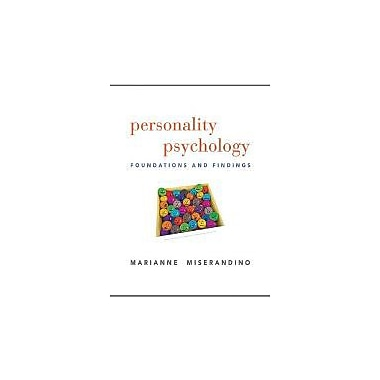 Personality Psychology: Foundations and Findings, Used Book (9780205738878)