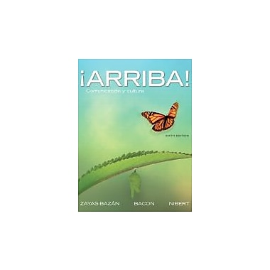 Arriba!: Comunicacion y cultura (6th Edition), New Book (9780205740376)