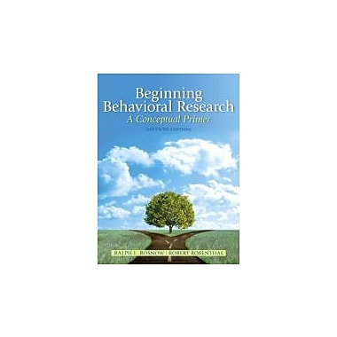 Beginning Behavioral Research: A Conceptual Primer (7th Edition), New Book (9780205810314)