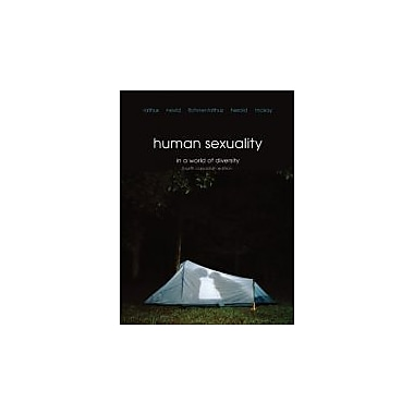 Human Sexuality in a World of Diversity, Fourth Canadian Edition with MySearchLab (4th Edition), New Book (9780205848744)