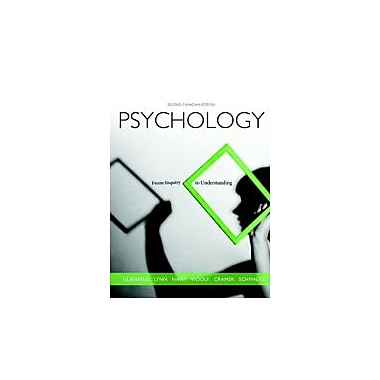 Psychology: From Inquiry to Understanding, Second Canadian Edition with MyPsychLab (2nd Edition), Used Book (9780205896110)