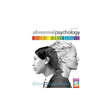 Abnormal Psychology Plus NEW MyPsychLab with eText -- Access Card Package (16th Edition), Used Book (9780205965090)