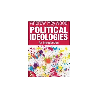 Political Ideologies: An Introduction, New Book (9780230367258)