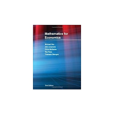 Mathematics for Economics, New Book (9780262015073)