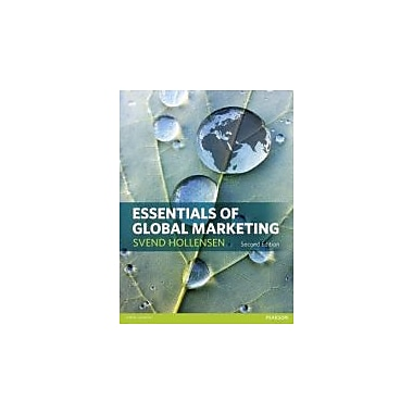 Essentials of Global Marketing, New Book (9780273756545)