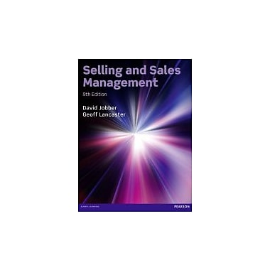 Selling and Sales Management (9th Edition), New Book (9780273762652)