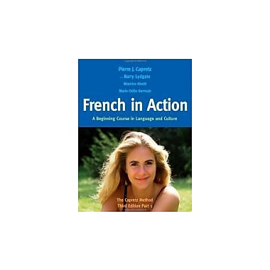 French in Action: A Beginning Course in Language & Culture: The Capretz Method Part 1, New (9780300176100)