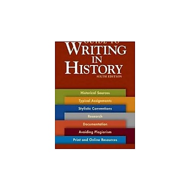 A Pocket Guide to Writing in History, New Book (9780312535032)