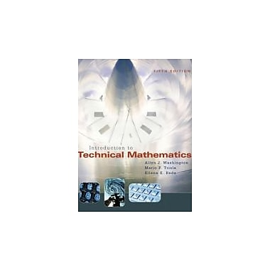 Introduction to Technical Mathematics (5th Edition), New Book (9780321374172)