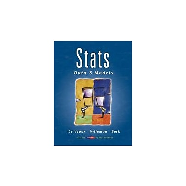 Stats: Data and Models (2nd Edition), Used Book (9780321433794)
