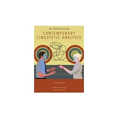 Contemporary Linguistic Analysis, New Book (9780321476661)